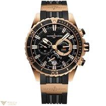 Ulysse Nardin Diver Chronograph Rose Gold Men's Watch