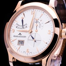 Jaeger-LeCoultre Master Eight Days 18kt. Rosegold Big Date Box...