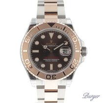 Rolex Yachtmaster 40 Steel-Everose Gold Chocolate Dial NEW