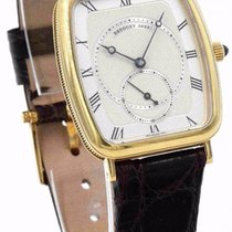 Breguet 3490 Heritage 18k Manual Wind Men's Watch - Yellow...