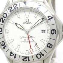 Omega Polished Omega Seamaster Professional 300m Gmt Automatic...