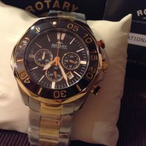 ROTARY  48mm  Chronograph Stahl/Gold AGB00067/C/04