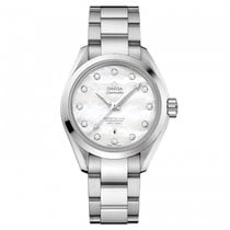 Omega Seamaster Steel White MOP Dial  231.10.34.20.55.002...