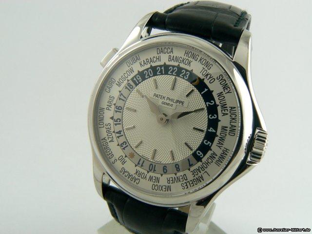 Patek Philippe WORLD TIME WHITEGOLD 5110G