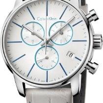 ck Calvin Klein City Chrono K2G271Q4 Herrenchronograph Swiss Made
