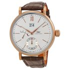 IWC Portofino Silver Dial 18kt Rose Gold Men's Watch