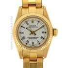 Rolex 18k yellw gold ladies Oyster Perpetual