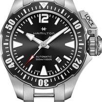 Hamilton Khaki Navy Frogman H77605135 Sportliche Herrenuhr 80h...