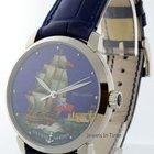 Ulysse Nardin San Marco HMS Caesar Cloisonne 18k Gold Watch...