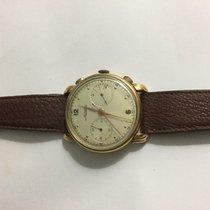 Minerva Vintage gold 36 mm cronograf cal 13.20 ch