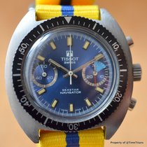 Tissot SEASTAR NAVIGATOR ref. 40522 40MM VALJOUX 7733 BLUE...