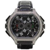 DeLaCour BiChrono S3 Rafaga Titanium & Diamond Case