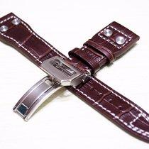 萬國 (IWC) New 22/18mm IWC Calfskin Leather Strap Replacement Band