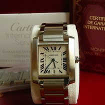 Cartier TANK FRANCAISE Grand Model 28x32mm Full-set Revision...