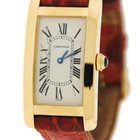 Cartier Tank Americaine Mid Size 18K Yellow Gold