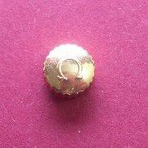 Omega Krone in doublé Ø 6,52mm, Höhe 3,65mm,Gewinde 0,9mm,...