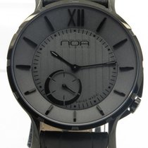 N.O.A Noa Slim Watch 18.60 Mslq-011 Gray Dial Black Case 40mm ...