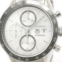 TAG Heuer Carrera Chronograph Steel Automatic Watch Cv2011...