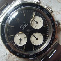 Rolex 1972 Very Rare BLACK BIG EYES Rolex DAYTONA  Ref 6263