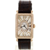 Franck Muller Ladies  Long Island 18K RG & Diamond...