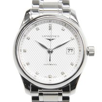 Longines Master Stainless Steel Silver Automatic L2.257.4.77.6