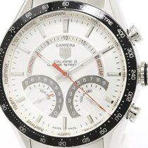 TAG Heuer Polished Tag Heuer Carrera Calibre S Chronograph...