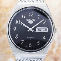 Seiko 5 Made In Japan Mens Rare Automatic Stainless Steel...