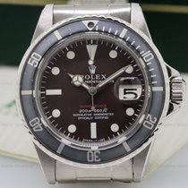 Rolex 1680 Vintage RED Submariner Tropical Meters First MKIII...