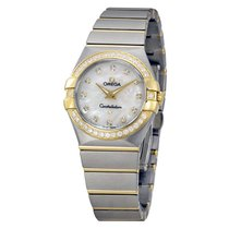 Omega Constellation Mother of Pearl Dial Ladies Watch 123.25.2...