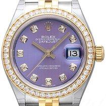 Rolex Lady-Datejust 28 279383RBR Lavendel Diamant Jubile-Band