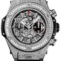 Hublot Big Bang Unico Titanium Jewellery 45mm Automatic...