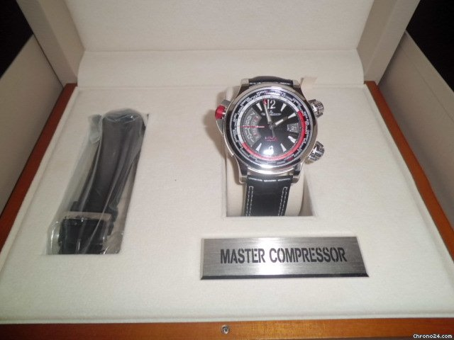 Jaeger-LeCoultre Master Compressor  Extreme World Alarm
