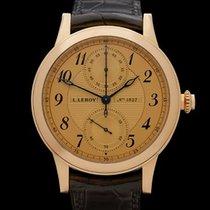 L.Leroy Osmior Monopusher Chronograph 18k Rose Gold Gents LL101-3