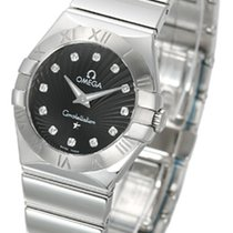 Omega Constellation Polished Quarz Small