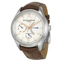 Baume & Mercier Baume and Mercier Clifton Silver Dial...