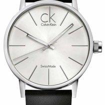 ck Calvin Klein Post Minimal CK_K7621192 Legere Herrenuhr...