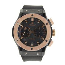 Hublot Classic Fusion Chronograph Black Magic 18K Rose Gold