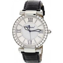 Chopard Ladies Chopard Imperiale Stainless Steel and Diamond...