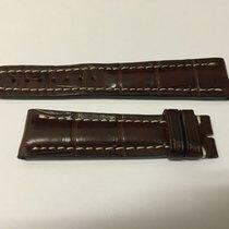 Breitling Strap Cinturino Crocodile Dark Brown 22x18