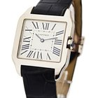 Cartier Santos Dumont Small Size in White Gold