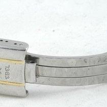 Ebel 1911 Stahl/gold Faltschliesse 13mm Deployment Clasp