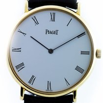 Piaget extrem flache Armbanduhr in Gelbgold 18kt Handaufzug...