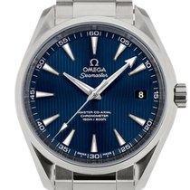 Omega Seamaster Aqua Terra 41.5 Blue Dial