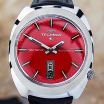 Technos Swiss Mens Vintage Swiss Automatic Watch With A...