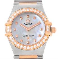 Omega Constellation My Choice Mini Diamond Watch 1368.71.00...