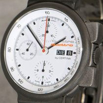 Certina Quattro Audi Design Titanium Chronograph Day Date, Mint