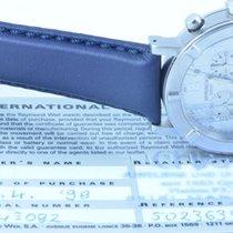 Raymond Weil Herren Uhr W1 37mm Stahl/stahl Silber Chronograph