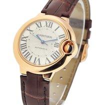 Cartier W6920069 Ballon Bleu 33mm Automatic - Rose Gold on...