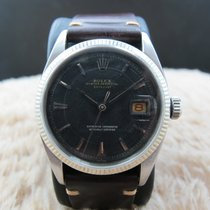 Rolex DATEJUST 6605 with Original Matt Black Dial
