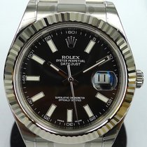 Rolex Datejust 2 II 41mm  Black Steel New Watch